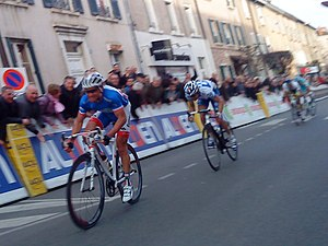 2011 Paris–Nice - Thomas Voeckler wins sprint finish to end stage four