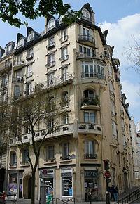 Paris 16 - Immeuble Jassédé 142 avenue de Versailles -1.JPG
