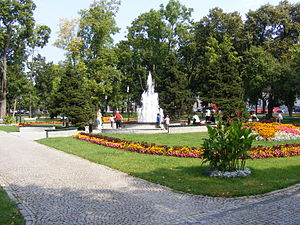 Suwałki - Park of the 3rd May Constitution, Suwałki