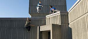Parkour Foundation Winter