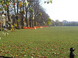 Parkside Community College - The grassed area next to the school used for recreation