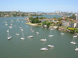 Parramatta River - Image: Parramatta River From Gladesville Bridge
