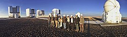 Participants in the workshop Ciencia de los Extremos visit the Paranal Observatory.jpg