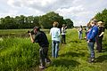 Participants of the Wiki loves Earth photography workshop in the Drentsche Aa 04.jpg