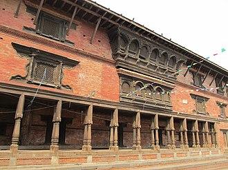 Newa architecture - Typical traditional Newa house