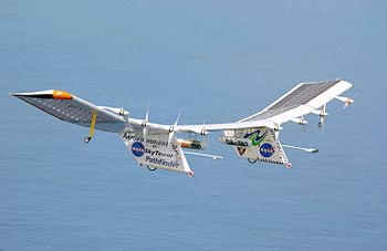 Pathfinder Plus solar aircraft over Hawaii.jpg