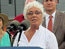 Patricia Jehlen at Assembly station opening, September 2014.JPG