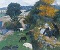 Paul Gauguin - La bergère bretonne.jpg