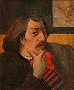 Paul Gauguin Sel-Portrait 1893 Detroit Institute of Arts.JPG