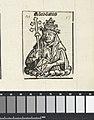 Paus Adeodatus II Adeodatus (titel op object) Liber Chronicarum (serietitel), RP-P-2016-49-60-11.jpg