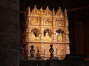San Pietro in Ciel d'Oro - Tomb of St Augustine, the Arca di Sant'Agostino, 1362