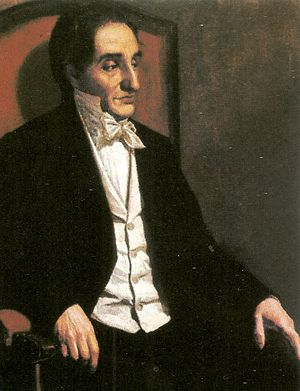 Francisco Antonio Zea - 1874 painting of Francisco Antonio Zea