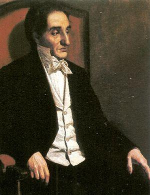 Francisco Antonio Zea - 1874 painting of Francisco Antonio Zea
