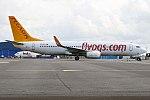 Pegasus Airlines, TC-CPV, Boeing 737-86J (37041503766).jpg