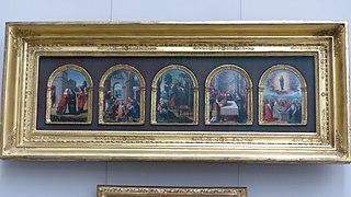 Visitation, Adoration des Mages, Fuite en Égyte, Circoncision & Assomption