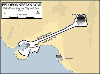 Ο Περικλής 400px-Pelopennesian_War%2C_Walls_Protecting_the_City%2C_431_B.C.