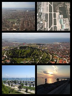 Pendik district in Istanbul, Turkey
