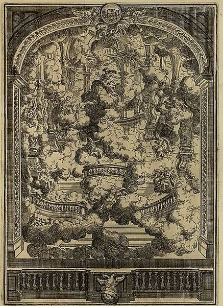 Soubor:Per la festività del Santo Natale by Metastasio, stage setting for the Prologue, 1727.jpg