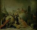 """Peter Cramer - Slutningsscenen af Johannes Ewalds """"Balders Død"""" - KMS4070 - Statens Museum for Kunst.jpg"""