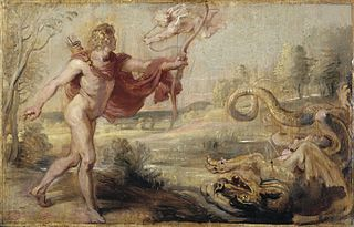 Apollo and the Python