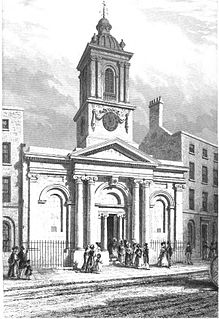 St Peter le Poer Church in City of London
