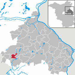 Petershagen/Eggersdorf – Mappa