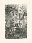 Petite femme tenant un sceau au bord d'un puits (NYPL b14917511-1212114).jpg