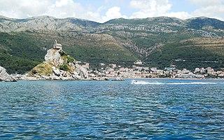 Petrovac, Budva Town in Montenegro