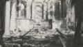 Petruskerk Leiden na de brand - 1933.png