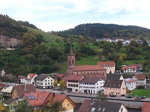 Pfarrkirche St Wendelin Weisenbach