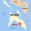 Ph locator masbate cawayan.png