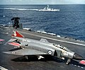 Phantom FG1 892 Sqn on HMS Ark Royal (R09) 1972.jpg