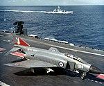 Phantom FG1 892 Sqn on HMS Ark Royal (R09) 1972.jpg