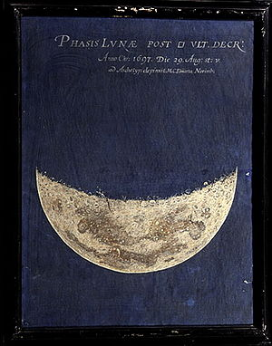 Maria Clara Eimmart - Image: Phase of the Moon Observed