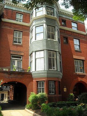 Phi Beta Kappa Society - The Phi Beta Kappa Society National Headquarters located in the historic Dupont Circle neighborhood of Washington, D.C.
