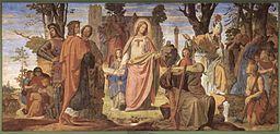 Philipp Veit Wprowadzenie sztuki w Niemczech przez religię