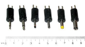 common dc power connectors