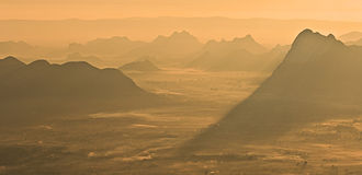 Phu Kradueng National Park - Sunrise view from the mountain