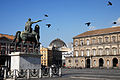 Piazza del Plebiscito monument to Charles III. Napoli, Campania, Italy, South Europe.jpg