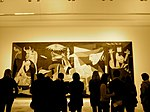 Picasso's Guernica - impressive up close (5515934400).jpg