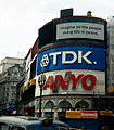 Piccadilly Circus Advertising with Imagine quote.jpg