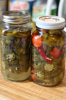 Pickle peppers