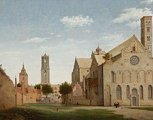 Schilderij van Mariakerk