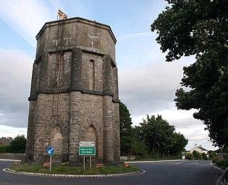 Piltown Village in Leinster, Ireland