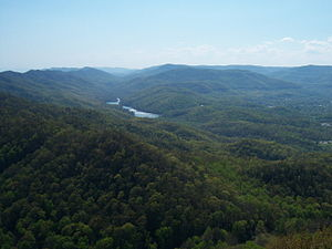 Cumberland Gap National Historical Park - View from Pinnacle Overlook