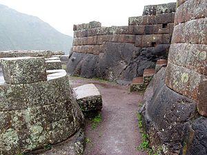 Písac - Image: Pisac City ruins