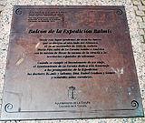 Placa aos membros da expedición Balmis.jpg