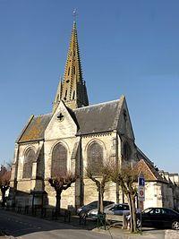 Plailly (60), église Saint-Martin, chevet 3.jpg
