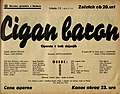 Plakat za predstavo Cigan baron v Narodnem gledališču v Mariboru 30. marca 1940.jpg