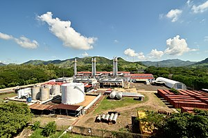 Lufussa - The Pavana II power plant, second of the three Lufussa power plants.